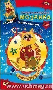 Мозаика голографическая Кот