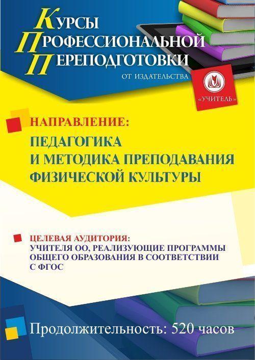 Педагогика и методика преподавания физической культуры (520 ч.) фото