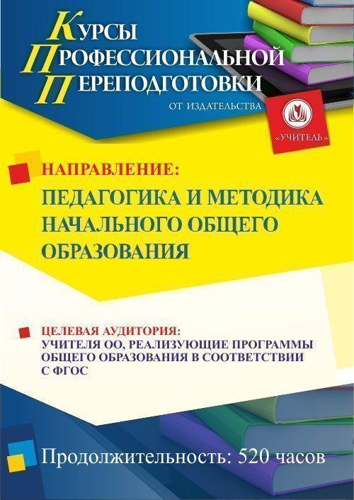 Педагогика и методика начального образования (520 ч.) фото